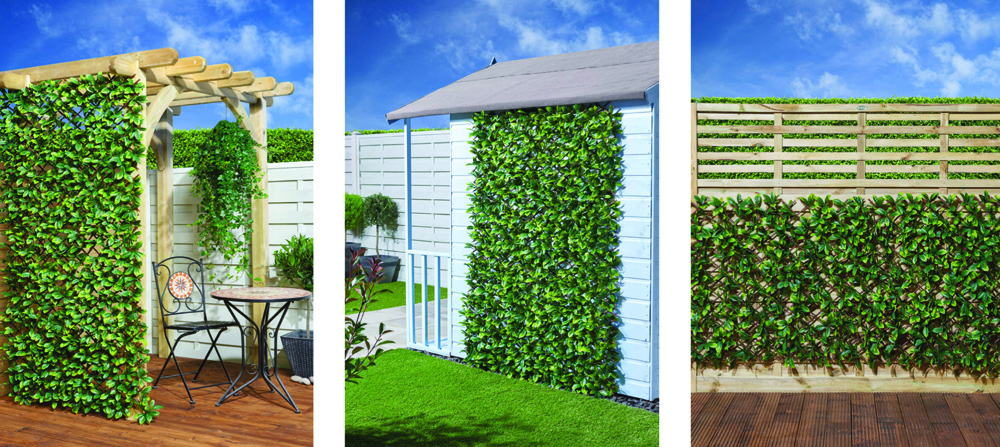 Screen ideas for instant privacy and shade green screens for Garden screening ideas