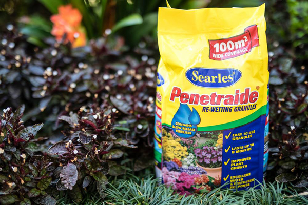 Searles Penetriade Re-Wetting Granules - improve water holding in soil