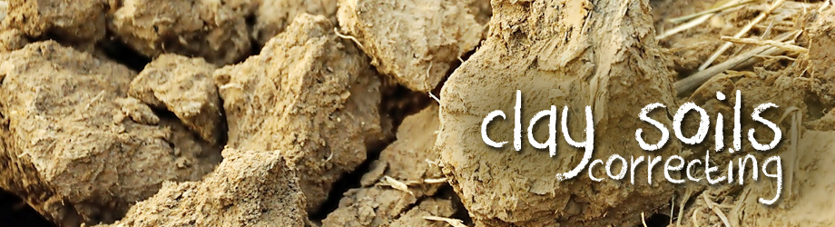 How to correct clay soils searles gardening for Where can you find soil