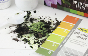 How to test soil ph level in garden soils - Ph soil test kit