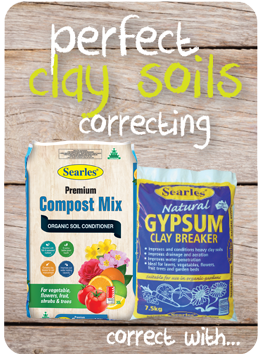 How to correct clay soils | Searles Gardening