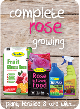 Searles Garden Products - Soil mix fertiliser plant food for growing roses