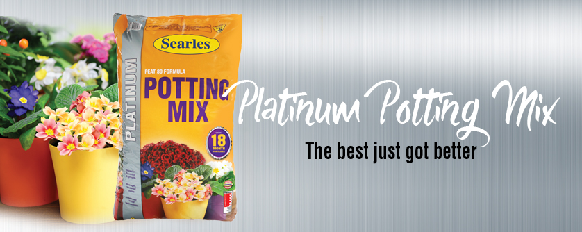 Searles Platinum Premium Potting Mix for healthy plant potting mix