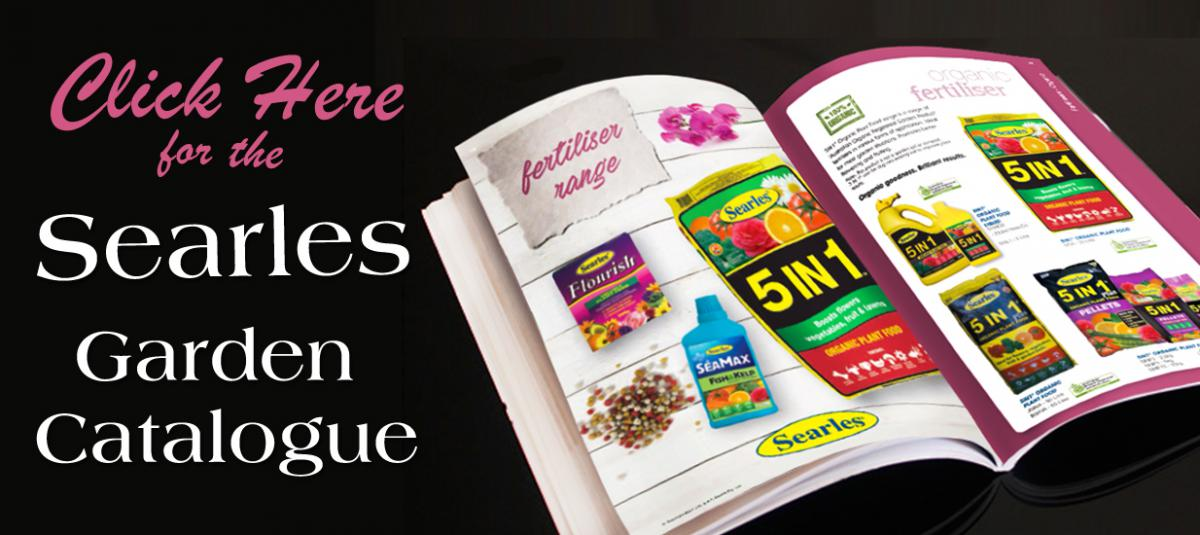 Click here for the Searles Garden Catalogue