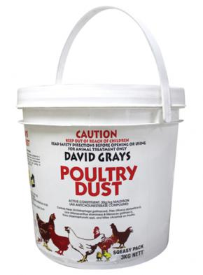 David Gray Poultry Dust 3kg