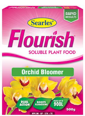 Searles Flourish Orchid Bloomer Sol Plant Food 500g