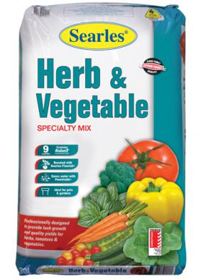 Searles Herb & Veg Specialty Mix 30Lt