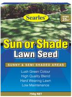 Searles Lawn Seed Sun or Shade 750g