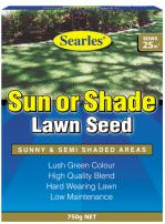 Searles Lawn Seed Sun or Shade