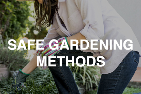 Safe gardening methods – Preventing sprains and strains