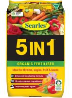 Searles 5IN1 Organic Fertiliser 25Lt