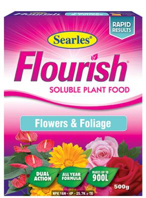 Searles Flourish Flowers & Foliage Sol Plant Food 500g