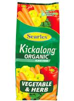 Searles Vegetable & Herb Organic Kickalong 2.5kg