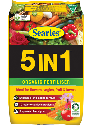 Searles 5IN1 Organic Plant Food