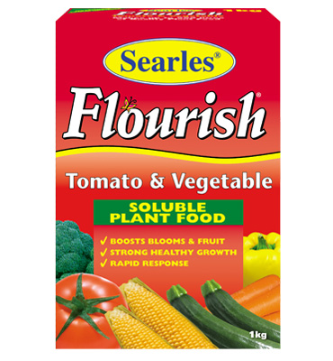 Searles Flourish Tomato & Vegetable Soluble Plant Food