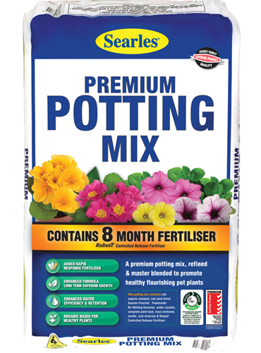 Searles Premium Potting Mix 30Ltr