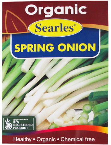 Searles Organic Spring Onion Seeds